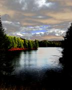 Lake Placid Ny Photo Posters - Fall in the Adirondacks 2 Poster by Maggy Marsh