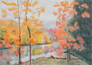 Warren Thompson Art Prints - Fall In Virginia  Print by Warren Thompson