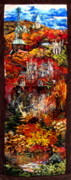 Vertical Tapestries - Textiles - Fall by Kimberly Simon