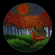 Baba Paintings - Fall by N Larson