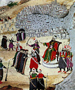 Byzantine Prints - Fall Of Constantinople, Ottoman Sultan Print by Photo Researchers