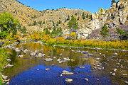 Colorado Greeting Cards Originals - Fall On The Pouder Co. by James Steele