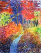 Pathway Pastels - Fall Passage by Ronine McIntyre