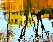 Reflections In Water Prints - Fall Reflections   Print by Dale   Ford