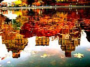 Fall Foliage Photos - Fall Reflections by Ariane Moshayedi