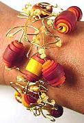 Artist Jewelry Originals - Fall Rounds Bracelet by Lynette Fast