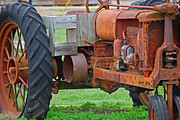 Farming Equipment Photos - Fall Rust by Peter  McIntosh