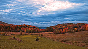 Pastureland Prints - Fall Scenery in the Canadian Countryside Print by Chantal PhotoPix