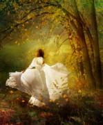 Fall Splendor Print by Karen H