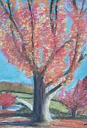 Fall Pastels - Fall Tree by Sarah Rachel Evans