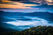 Asheville Prints - Fall Valley Print by Joye Ardyn Durham