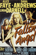 Postv Photos - Fallen Angel, Linda Darnell, Alice by Everett