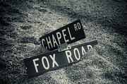 Road Signs Prints - Fallen sign Print by Scott Sawyer