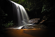 Water Filter Photos - Falling Light by Mark Lucey