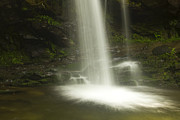 Park Scene Metal Prints - Falling Water Metal Print by Andrew Soundarajan