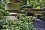 Nyc Photos Photos - Falling Water FLW by Chuck Kuhn
