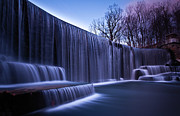 New Jersey Framed Prints - Falling Water Framed Print by Mihai Andritoiu, 2010