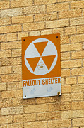 Natural Disaster Framed Prints - Fallout Shelter Framed Print by Nikki Marie Smith