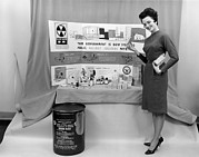 Human Survival Framed Prints - Fallout Shelter Supplies, Usa, Cold War Framed Print by Us National Archives And Records Administration