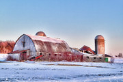 Farm Towns Prints - Fallow Print by Chuck Alaimo