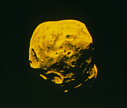Phobos Prints - False-colour Image Of Phobos Print by Ria Novosti