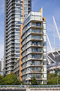 False Creek Prints - False Creek Condo Print by Chris Dutton