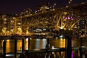 Cambie Bridge Prints - False Creek  Print by David  Naman