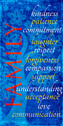 Kindness Posters - Family  Poster by Bonnie Bruno
