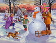 Valerian Ruppert - Family Fun In The Snow
