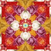 Sacred Geometry Posters - Family Jewels Poster by Bell And Todd