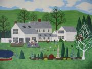 Susan Houghton Debus - Family Picnic At Garden...