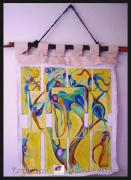 Human Tapestries - Textiles Prints - Family Tree Print by Carol Rashawnna Williams