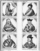 Kelly Prints - Famous Astrologers Print by Science, Industry & Business Librarynew York Public Library