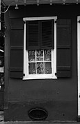 Window Signs Art - Famous New Orleans PO BOYS Neon Window Sign Black and White by Shawn OBrien