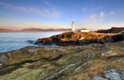 Klarens Prints - Fanad Head Lighthouse Print by Pawel Klarecki