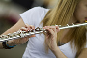 Flute Photos - Fancy Fingers by Rebecca Cozart