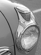 Transportation Framed Prints Prints - Fancy Headlight Print by Brian Mollenkopf