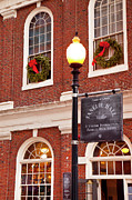 New England Winter Framed Prints - Faneuil Hall Framed Print by Brian Jannsen