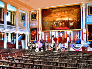 Boston Digital Art Metal Prints - Faneuil Hall Metal Print by Stephen Younts