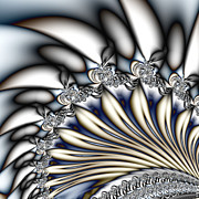 Manley Art - Fanfare - An Abstract Fractal Design by Gina Manley