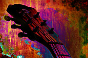 Rock Guitar Prints - Fantasia Print by Christopher Gaston