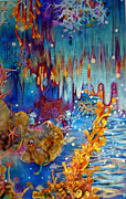 Ocean Animals Acrylic Prints - Fantasia by Samantha Lockwood