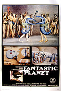 Planet Fantastic Framed Prints - Fantastic Planet, 1973 Framed Print by Everett