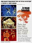 1960s Poster Art Photo Framed Prints - Fantastic Voyage Aka Le Voyage Framed Print by Everett