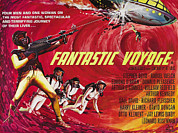 1960s Poster Art Posters - Fantastic Voyage, British Poster Art Poster by Everett