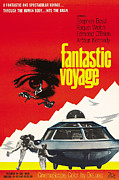 1960s Poster Art Photo Framed Prints - Fantastic Voyage, Poster, 1966 Framed Print by Everett