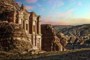 Ancient Civilization Metal Prints - Fantasy Metal Print by David Lazar