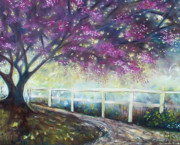Emery Franklin Metal Prints - Fantasy Tree Metal Print by Emery Franklin