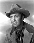 Films By Anthony Mann Framed Prints - Far Country, The, James Stewart, 1955 Framed Print by Everett