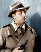 Trenchcoat Prints - Farewell My Lovely, Robert Mitchum, 1966 Print by Everett